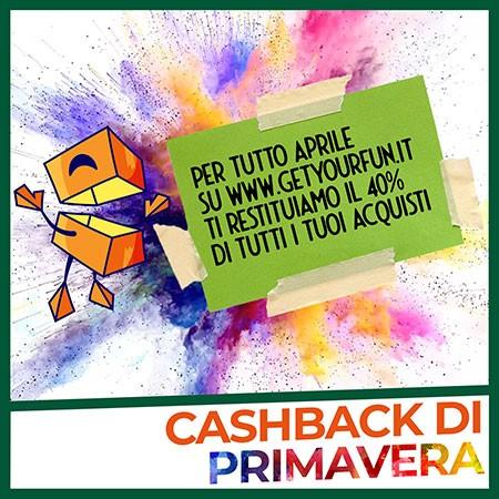 Cashback di Primavera 40%